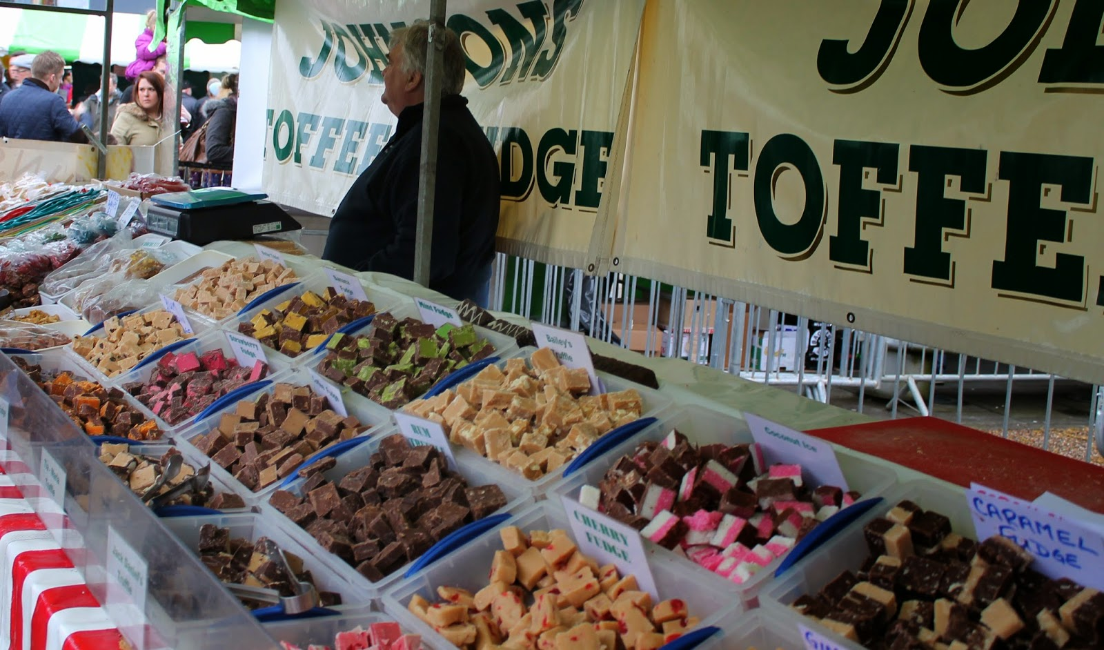 Bishop Auckland Food Festival 2014 - Johnson's Fudge and Toffee