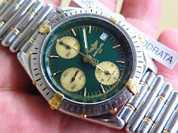 BREITLING CHRONOGRAPH GREEN DIAL - AUTOMATIC