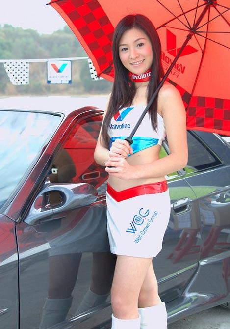 Asian car girl show #9