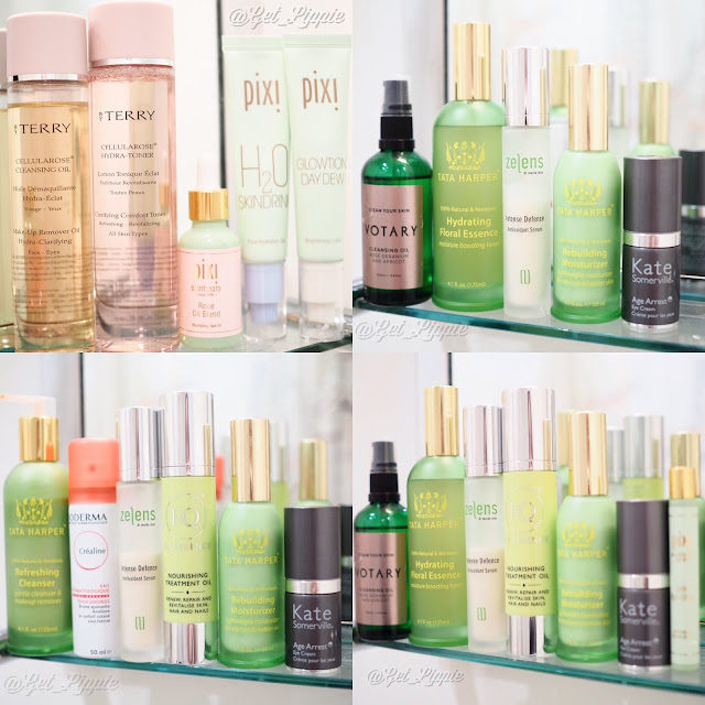 By Terry, Pixi Beauty, Tata Harper, Kate Somerville, Zelens, Votary, Bioderma, Eloquence Beauty,