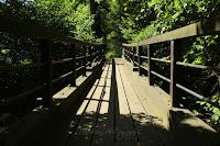 Dřevěný most přes Metuji/The Wooden Bridge over the Metuje River