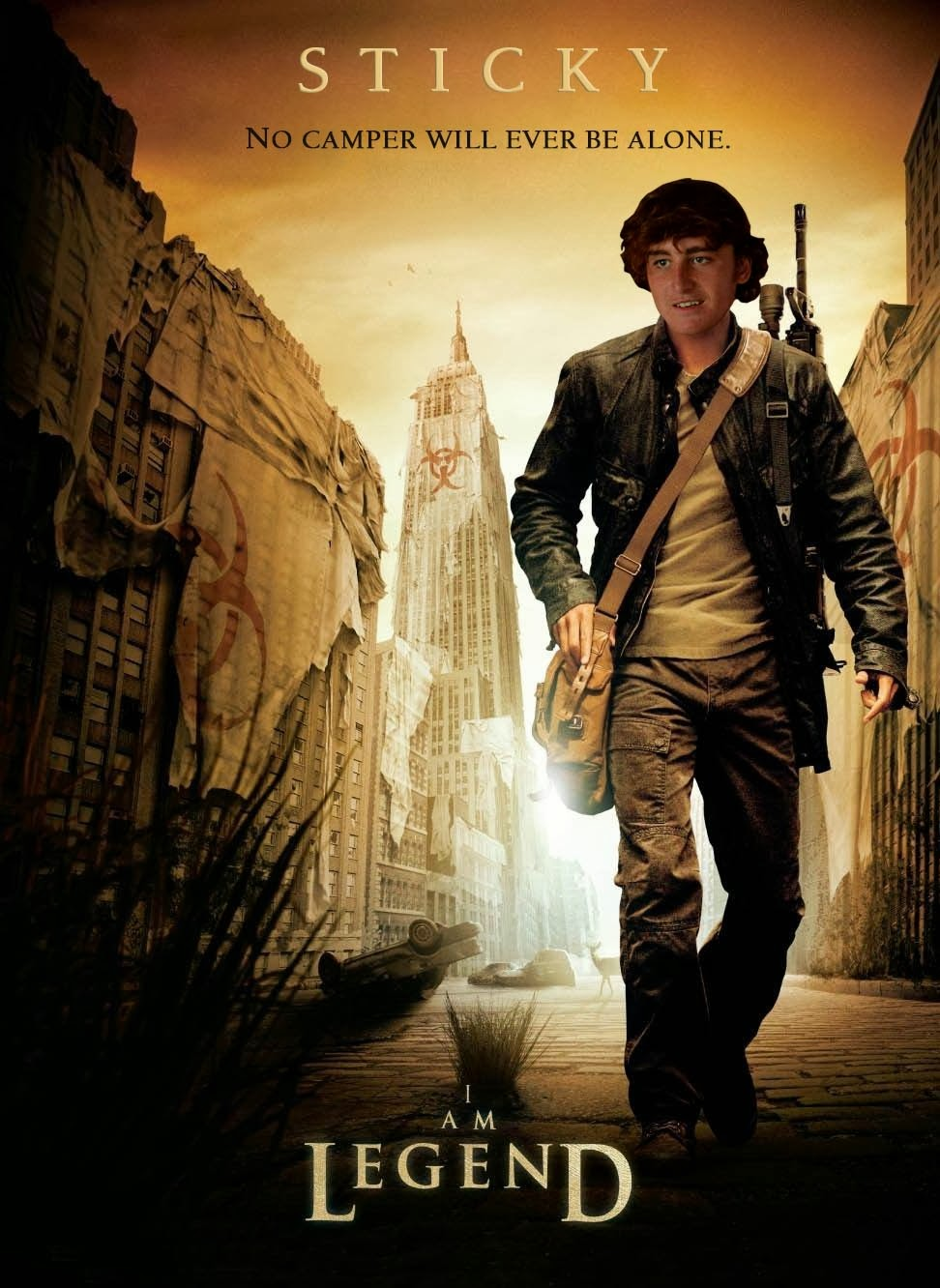 me know on facebook if you  I Am Legend Fb Cover