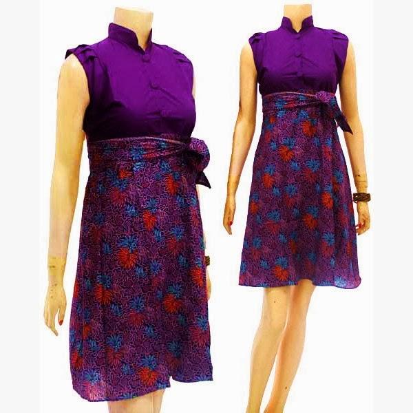 Dress Batik Modern Solo KODE : DB 3664