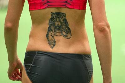 Imagens de Tatuagens Femininas de Tigre