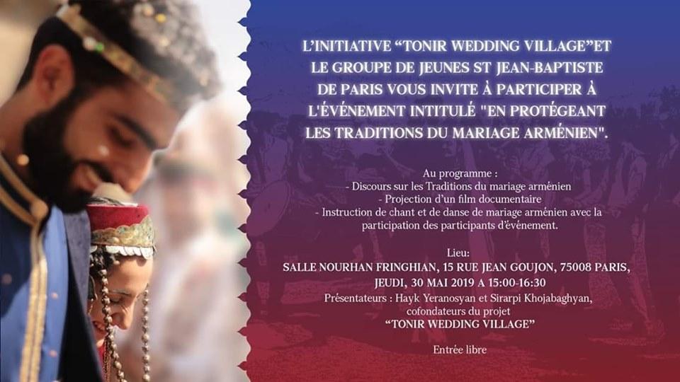 CONFERENCE - Les traditions du mariage arménien