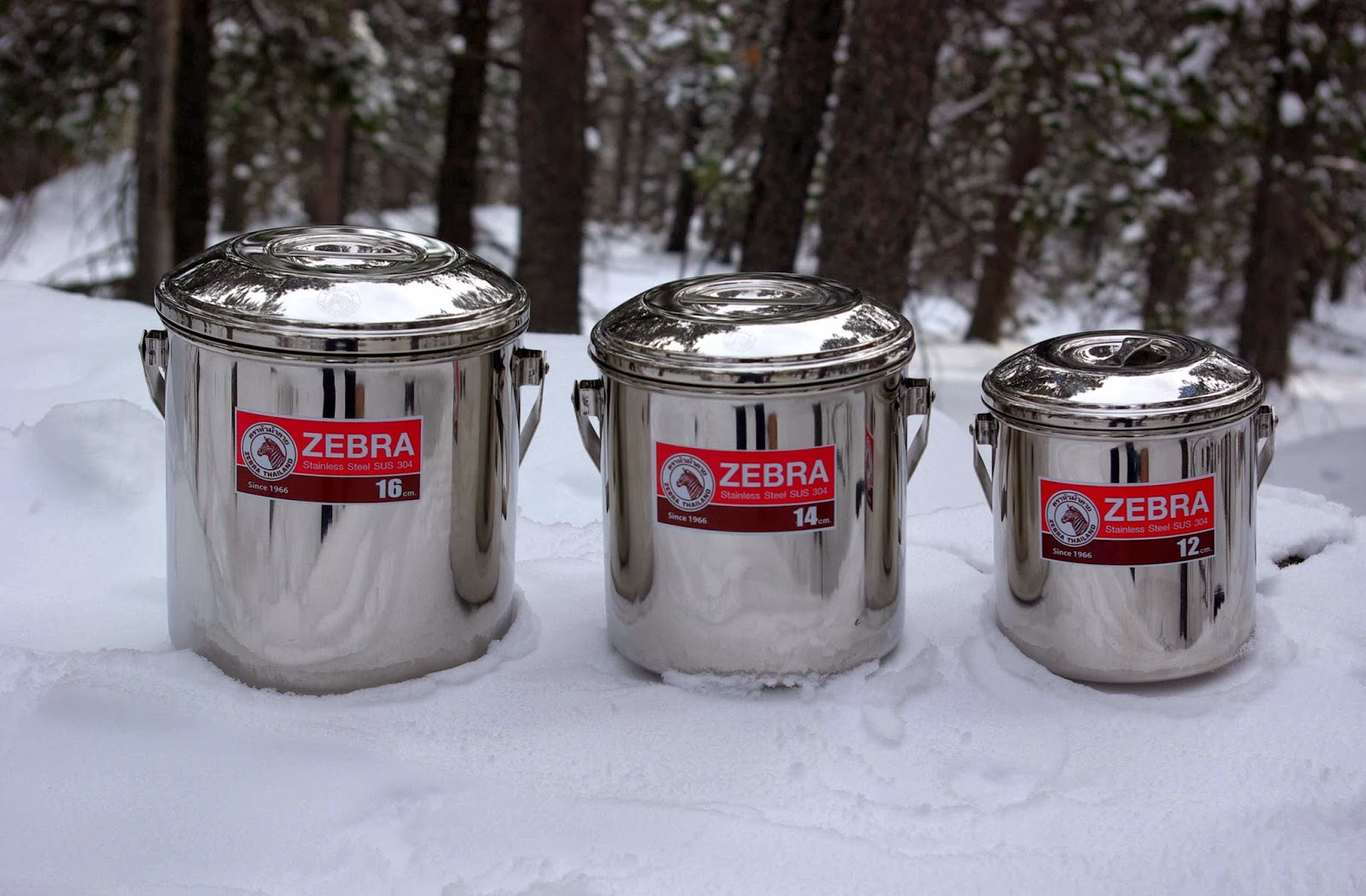 Rocky mountain bushcraft shot show 2014 first impression review - Gear Review Zebra Billy Pots