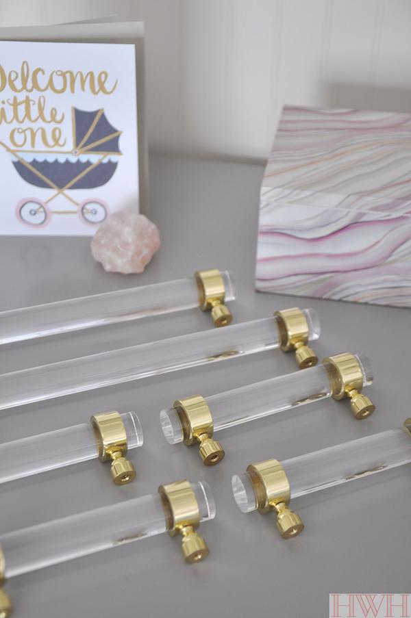 Lucite Kitchen Cabinet Pulls