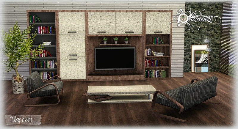 My Sims 3 Blog: Vaccari Living Set by Simcredible Designs
