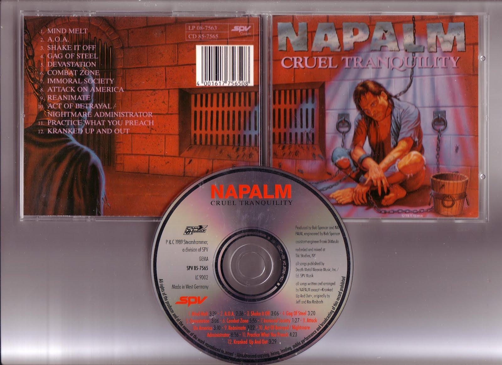 Napalm - Cruel Tranquillity