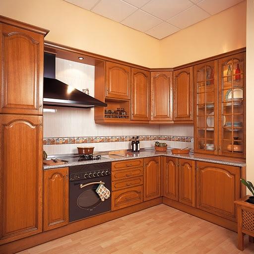 Cocinas integrales abarco carpinter a y ebanisteria for Reposteros de cocina en madera modernos