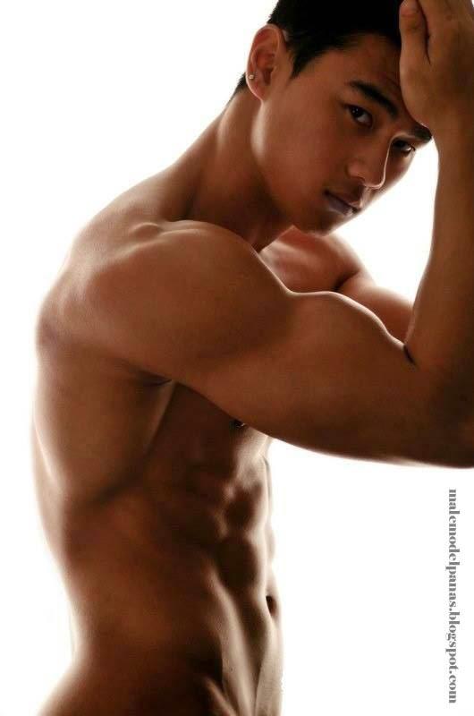 asian muscle men photo