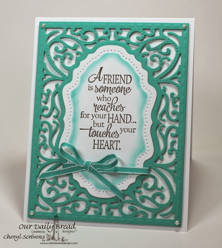 Our Daily Bread Designs, ODBDSLC197, Quote Collection 4, ODBD Vintage Flourish Pattern Die, CherylQuilts, Designed by Cheryl Scrivens