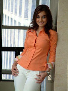 Minissha Lamba breast