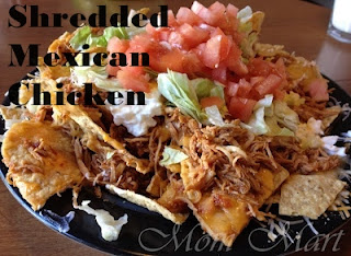 Shredded Mexican Chicken Freezer Meal