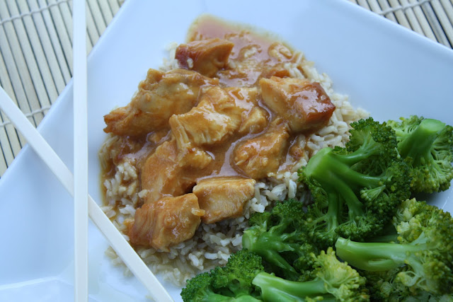Slow cooker orange chicken another recipe with minimal for Recipes with minimal ingredients