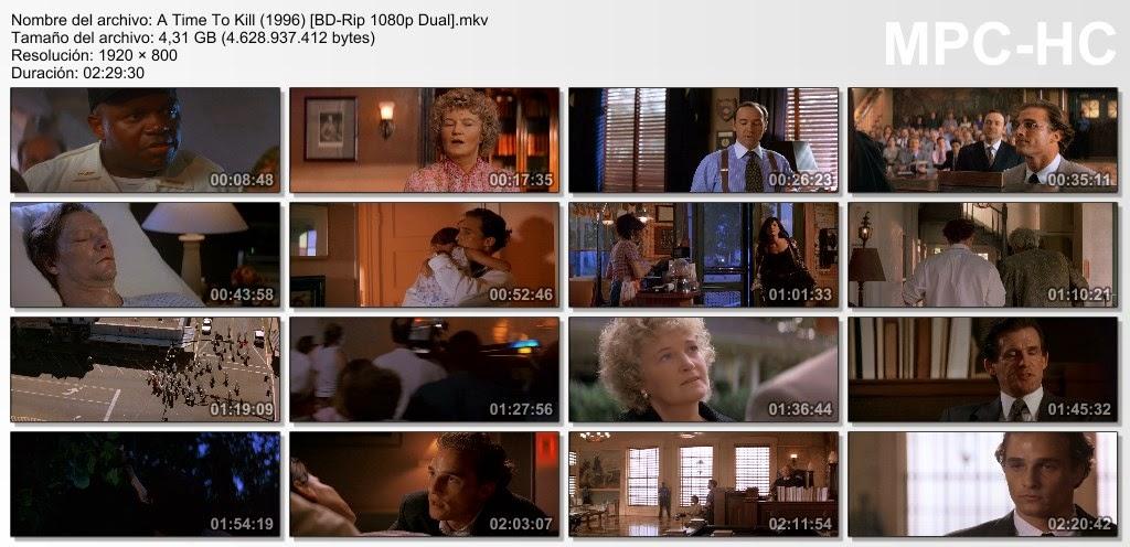A Time To Kill  Tiempo de Matar  1996  1080p.  Dual  Latino