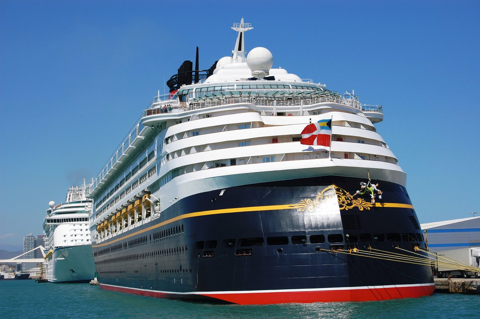 NAVIGATION-Cruising And Maritime Themes CRUISE SHIP DISNEY MAGIC