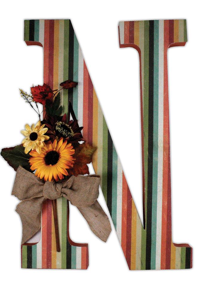 Crafts Direct Blog: Paper Mache Letters.