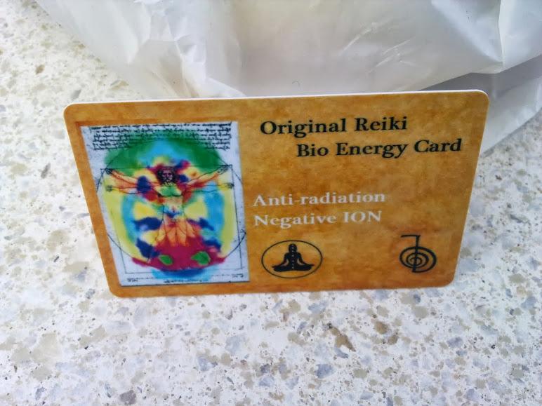 0riginal Reiki Bio Energy Card