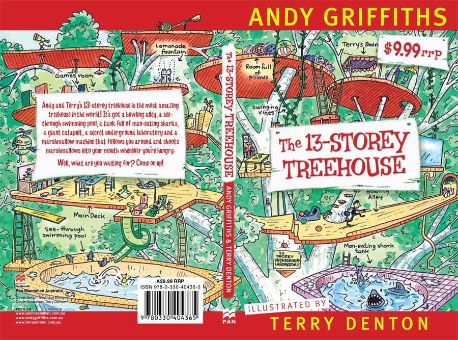 Reading to Kids Books: The 13-Story Treehouse