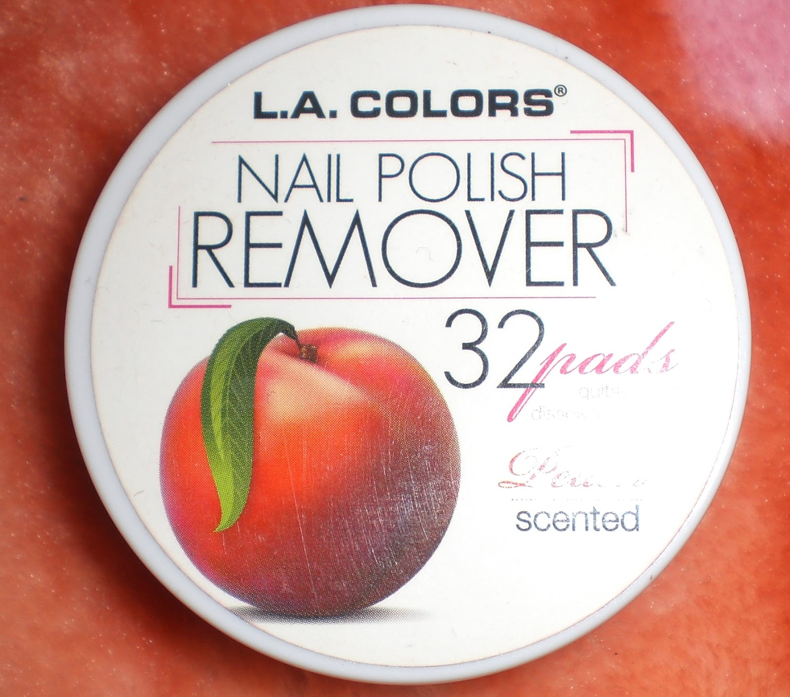 Cotton Candy Fro: L.A. Colors Nail Polish Remover Pads