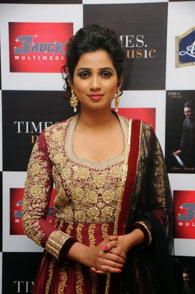 Singer Shreya Ghoshal