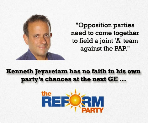 kenneth jeyaretnam reform party epicfail