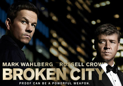 Broken City, Russell Crowe, Mark Wahlberg, crime, NYC