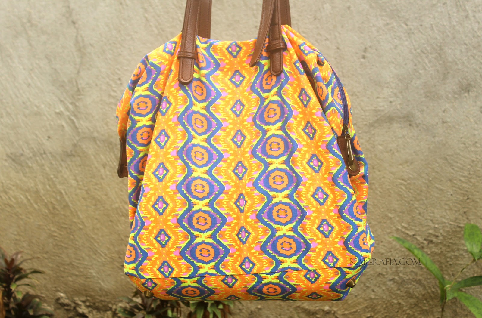 neon tote bags for women