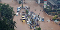 Gambar Banjir Jakarta 2013