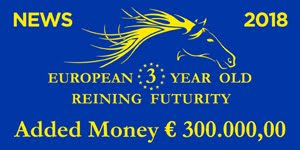IRHBA E IRHA, IL FUTURITY 2018 VOLA A 300.000 EURO