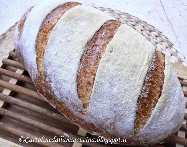 pane con semola rimacinata a lievitazione naturale