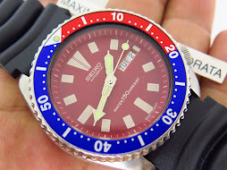 SEIKO DIVER 6309 7290 RED DIAL - PEPSI BEZEL - AUTOMATIC