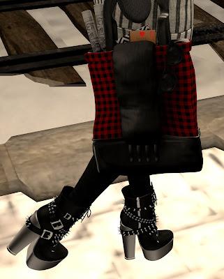 k-otic,min huntress boots,the black dot project
