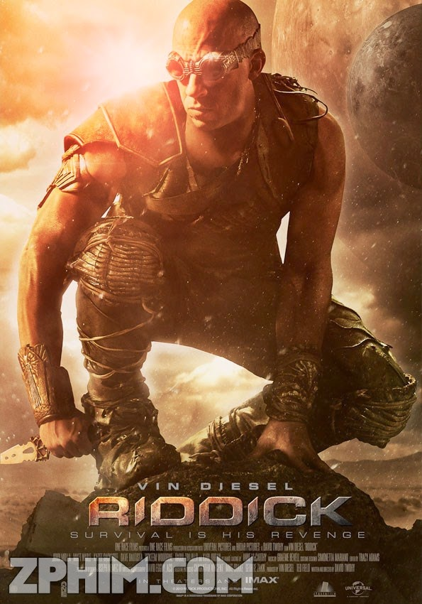 Huyền Thoại Riddick - Riddick (2013) Poster