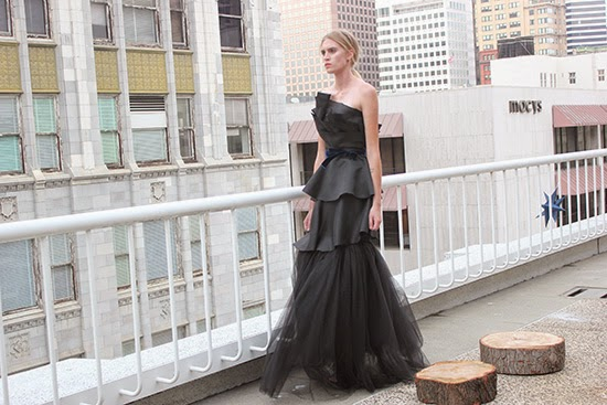 Alyssa Nicole Black Evening Gown