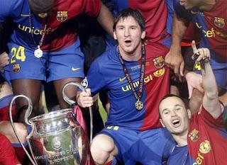 El Barça dueño de la Orejona