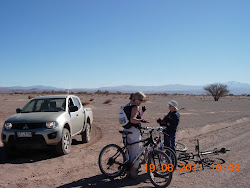 Cycling across the desert
