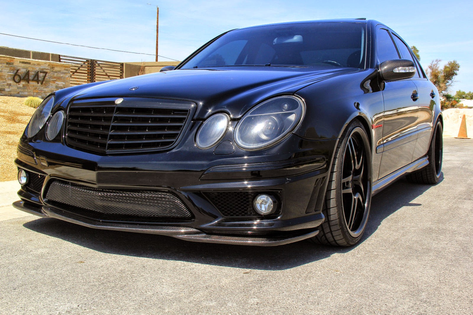 Mercedes benz w211 e55 amg renntech shadowline benztuning for Mercedes benz tuning