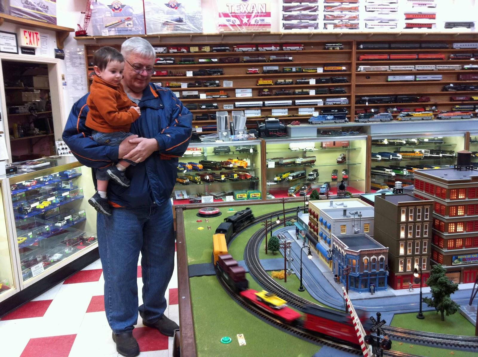 Toy train shop brighton