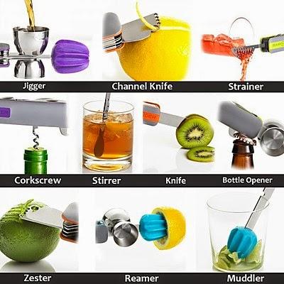 mini utensilio para preparar cocteles