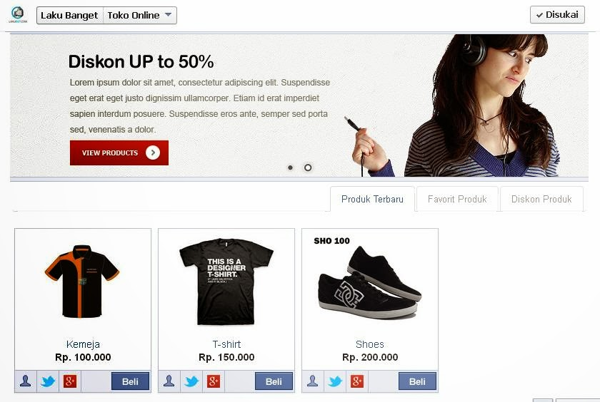 Demo Facebook Commerce