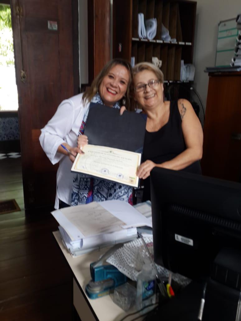 Doutora no Brasil e no Mundo!
