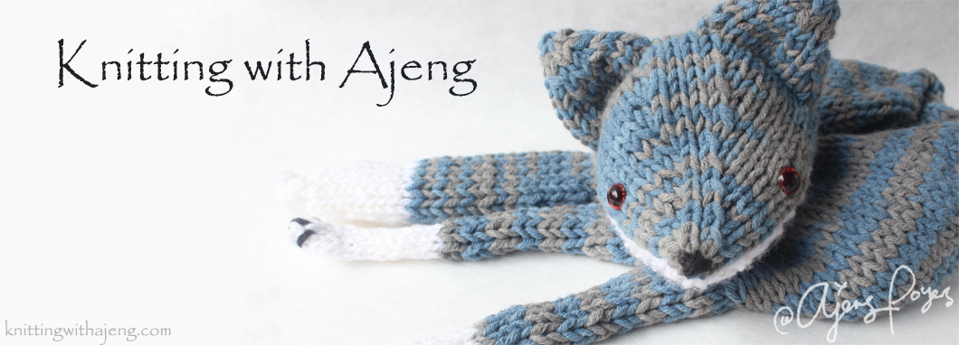 Knitting with Ajeng