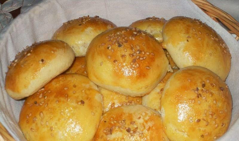 Petits pains au sésame