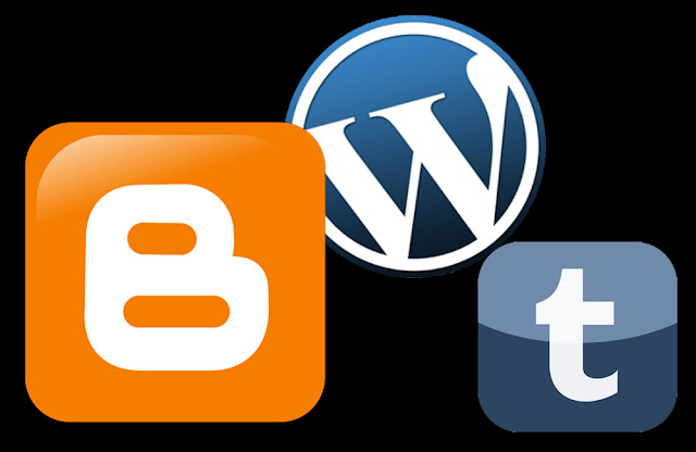 blogger 、Tumbler、Wordpress