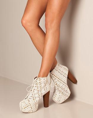 Shopping tip: Jeffrey Campbell lita shoes in creme.