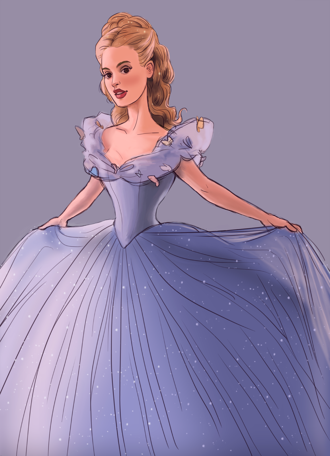 It's just a picture of Vibrant A Picture of Cinderella