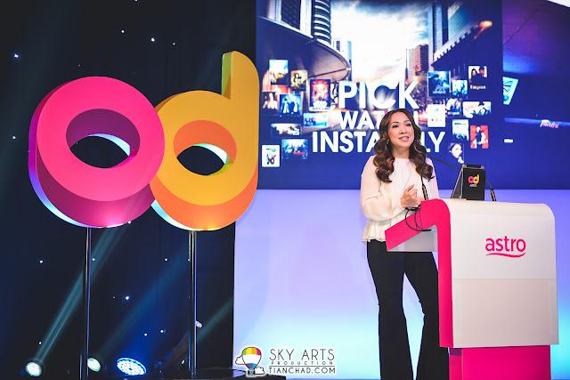 Dato Rohana Rozhan @ ASTRO OD Launch