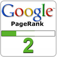 We are now PageRank 2